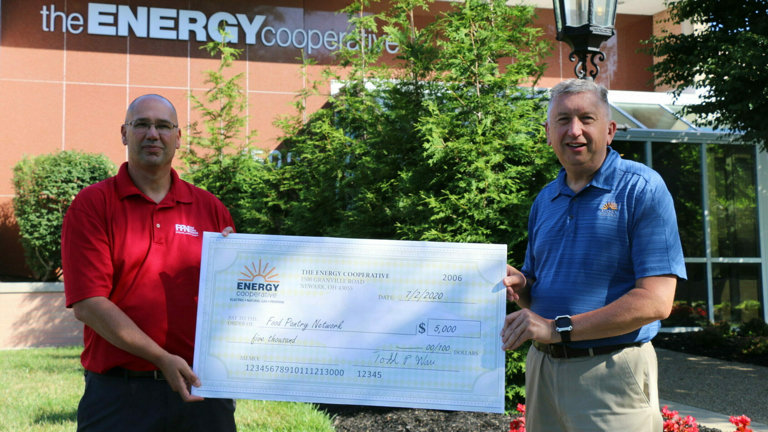 Donation to the Food Pantry Network of Licking County
